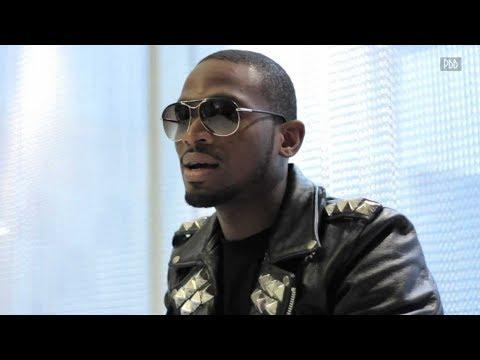Watch Dbanj Funny Reaction When He Meet Oshozondi crooner Slimcase
