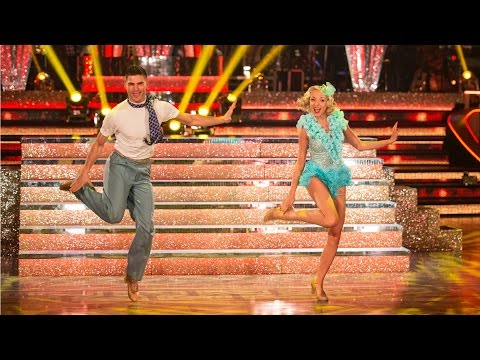 Helen George & Aljaz Skorjanec Charleston to 'Anything Goes'  Strictly Come Dancing: 2015