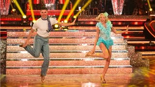 Helen George & Aljaz Skorjanec Charleston to