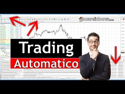 trading automatico di criptovaluta