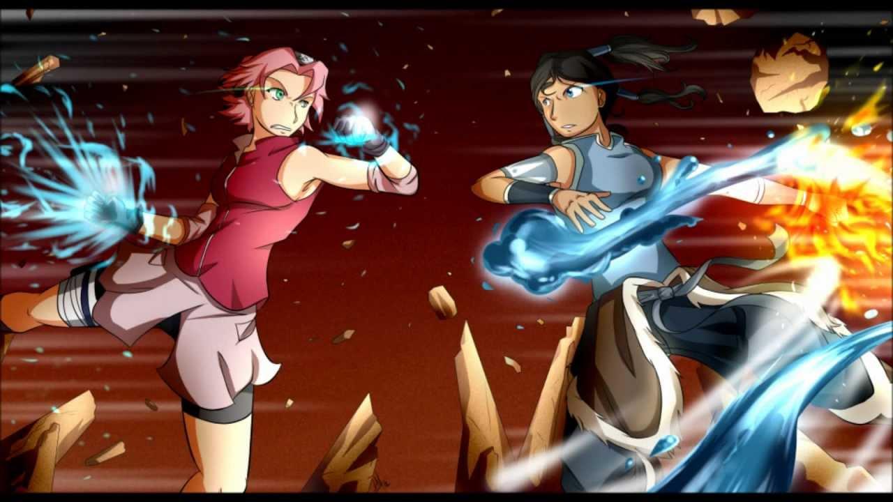 Cartoonblock Contest Entry Sakura VS Korra - YouTube  Cartoonblock Co...