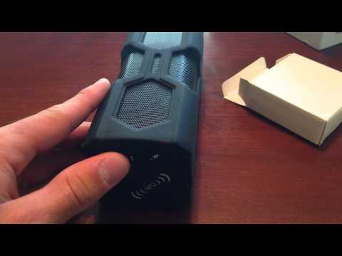 Portable Waterproof Bluetooth Speaker Review