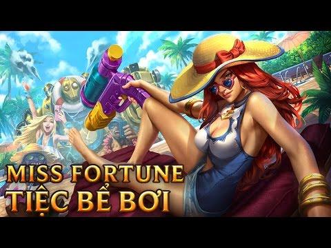 Miss Fortune Tiệc Bể Bơi - Pool Party Miss Fortune - Skins lol