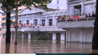 Наводнение в Северной Корее