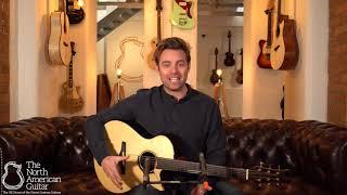 Matsuda M1 Cutaway Acoustic Guitar, Brazilian Rosewood & Italian Spruce