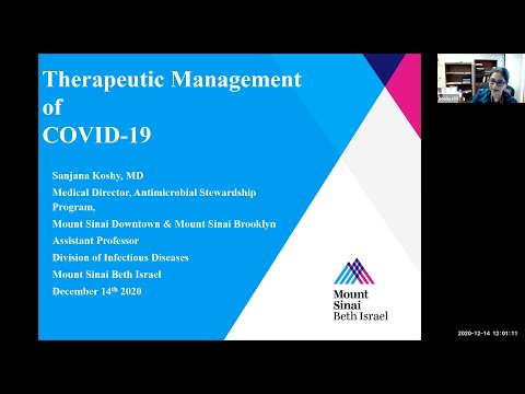 Therpeutic Management Of COVID 19
