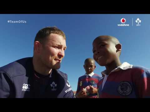Vodafone Rugby | Donnacha Ryan Johannesburg Kids Tag Rugby