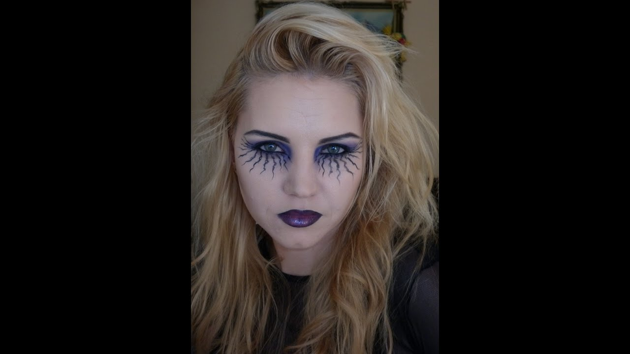 Youtube Makeup Tutorials Popular: Inspired Halloween Makeup!