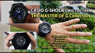 Casio G-Shock GWG-100-1AER MUDMASTER Solar MultiBand 6 review