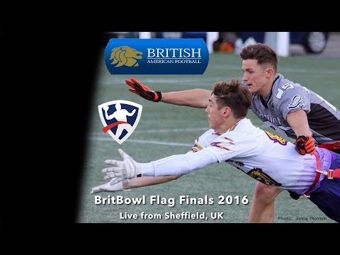 BAFA Adult 2017 Flag Finals LIVE