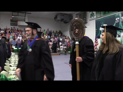 University of Arkansas at Monticello's 2018 Spring Afternoon Commencement.
