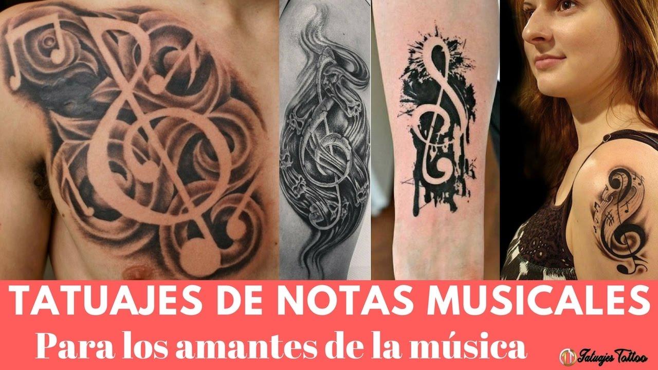 Tatuajes De Música Para Los Amantes De La Música Por Sus Venas