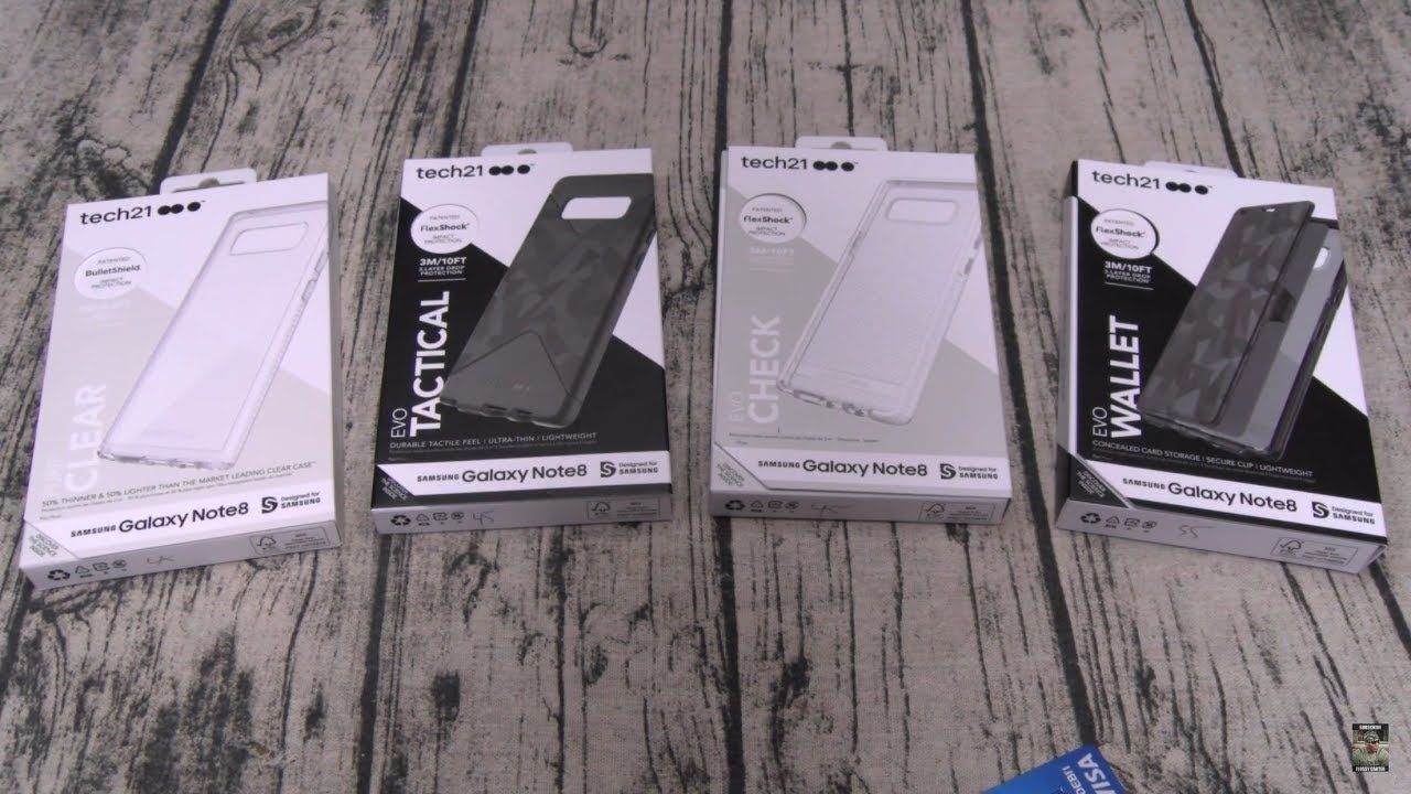 low priced 64d55 28e81 Samsung Galaxy Note 8 Tech21 Case Lineup