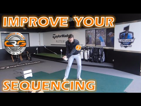 PERFECT GOLF SWING SEQUENCE