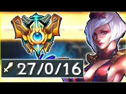 27/0/16 ELISE IN CHALLENGER? MY BEST GAME EVER... - Actually GOING for RANK 1 - Ep. 76 | LoL