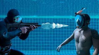What Happened When He Was Shot Under Water?