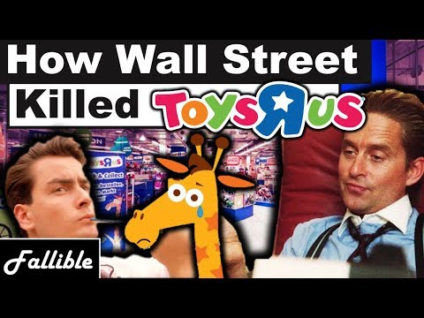 How Wall Street Destroyed Toys
