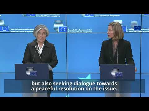 Press statement EU HR and MFA RoK Highlights