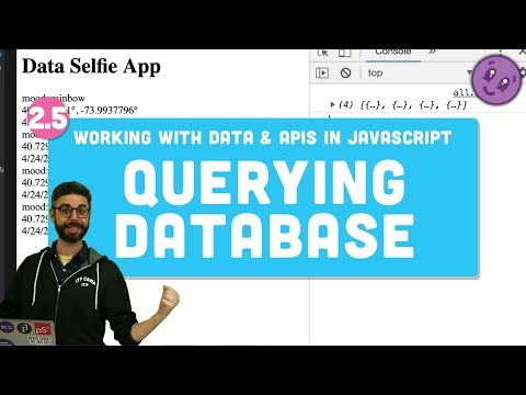 2.5 Database Query - Working with Data and APIs in JavaScript thumbnail