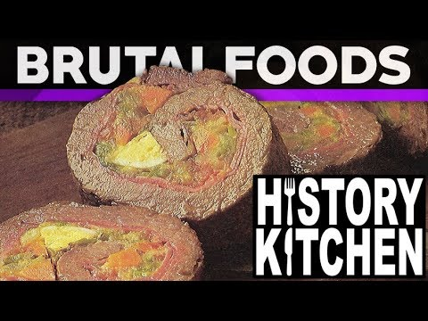 Stuffed Rolled Steak - Retro Recipe Review - brutalfoods