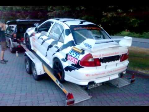 Mitsubishi Evo Vi Rally Car W Incredible Exhaust Sound Youtube