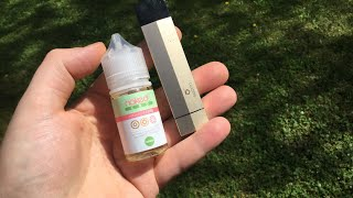 Suorin edge and Naked 100 CBD vape liquid