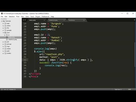 Access Javascript Data In Php
