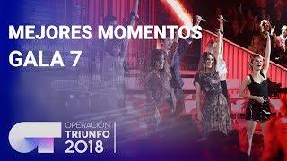 Mejores momentos de la Gala 7   OT 2018