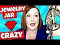 Jewelry Jar Crazy! Detangled Silver & Gold Chains - Jewelry Jar Unboxing