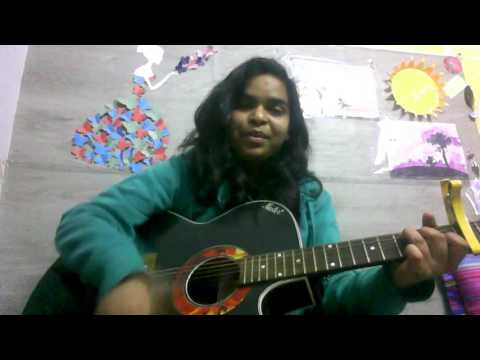 pal-pal-dil-k-paas-(blackmail)- -guitar-cover- -female-cover