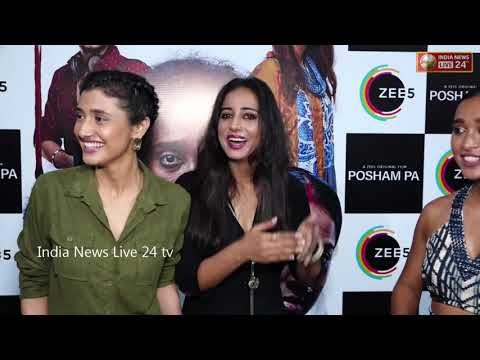 ZEE5 HOST RED CARPET SCREENING OF POSHAM PA WITH CAST & OTHER CELEBS