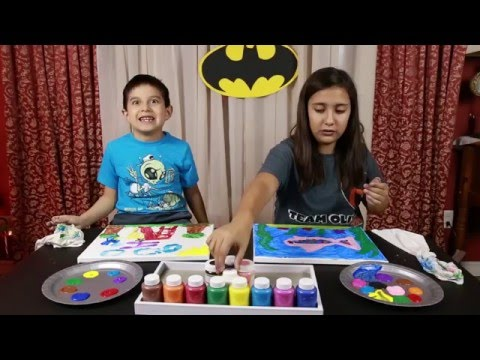 How to do Finger Painting / Arts and Crafts / Kids Creative World
