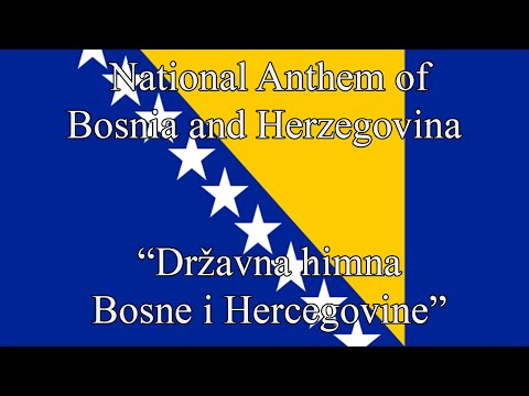 "National Anthem of Bosnia and Herzegovina - ""Državna himna Bosne i Hercegovine"""