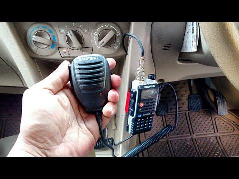 Cara Merubah Radio HT (Handy Talky) Menjadi Radio Rig Di Mobil - [Tutorial Handheld Radio Mobile]