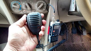 Download Video Cara Merubah Radio HT (Handy Talky) Menjadi Radio Rig di Mobil - [Tutorial Handheld Radio Mobile] MP3 3GP MP4