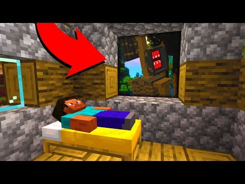 He is watching you while you sleep at 3AM in Minecraft..