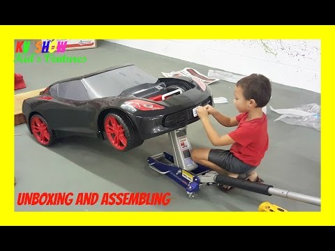 Thumbnail: Unboxing And Assembling The Power Wheel Ride On Corvette 6 Volt