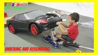 Unboxing And Assembling The Power Wheel Ride On Corvette 6 Volt thumbnail