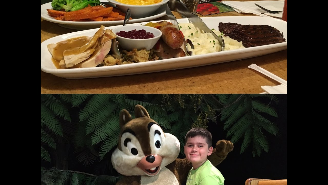 Garden Grill at EPCOT for Dinner - YouTube