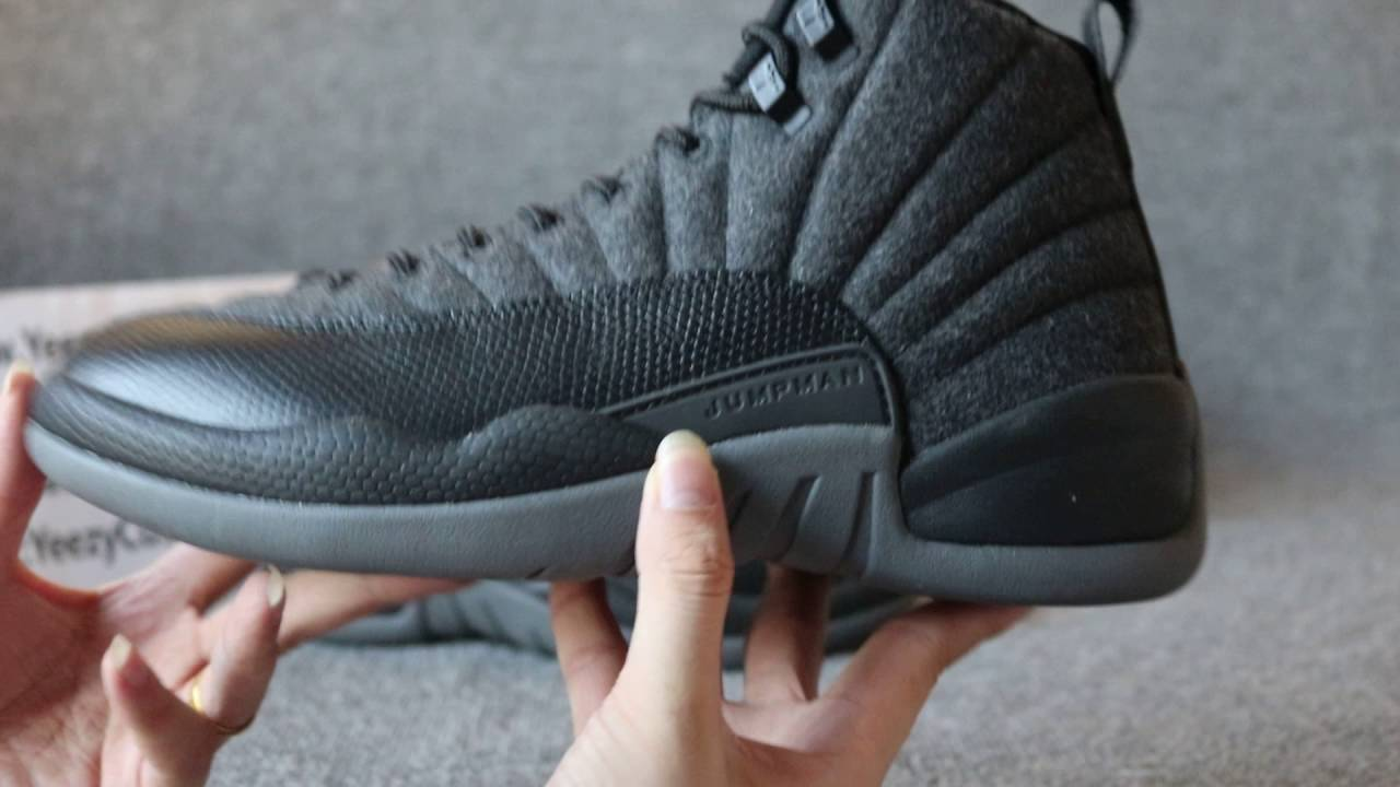 Authentic Air Jordan 12 Wool HD Review
