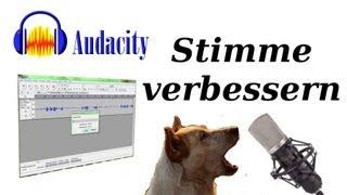 Audacity Tutorial: Stimme verbessern (Deutsch) - lastsiteliving