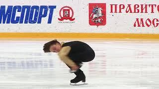 Георгий Куница КП. Первенство г.Москвы среди юниоров 2017