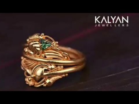 Kalyan Jewellers Gold Ring Designs