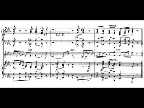 Wilhelm Friedemann Bach - Concerto for two Harpsichords in E flat Major (ca. 1740)
