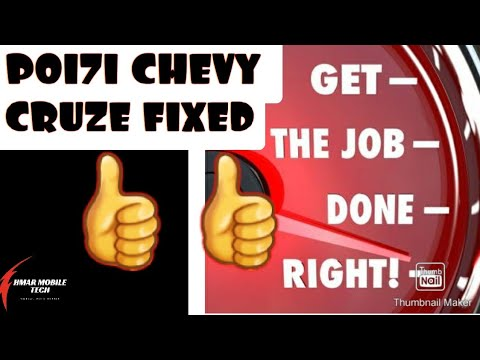 P0171 Lean On Bank 1 : 2012 Chevy Cruze ECO 1.4l T ( After Repairs Made, It's Fixed !!! ) CHEVY / GM