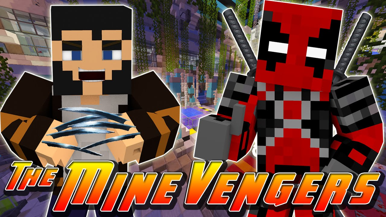 Minecraft Adventure WHO MADE DEADPOOL Amp WOLVERINE YouTube