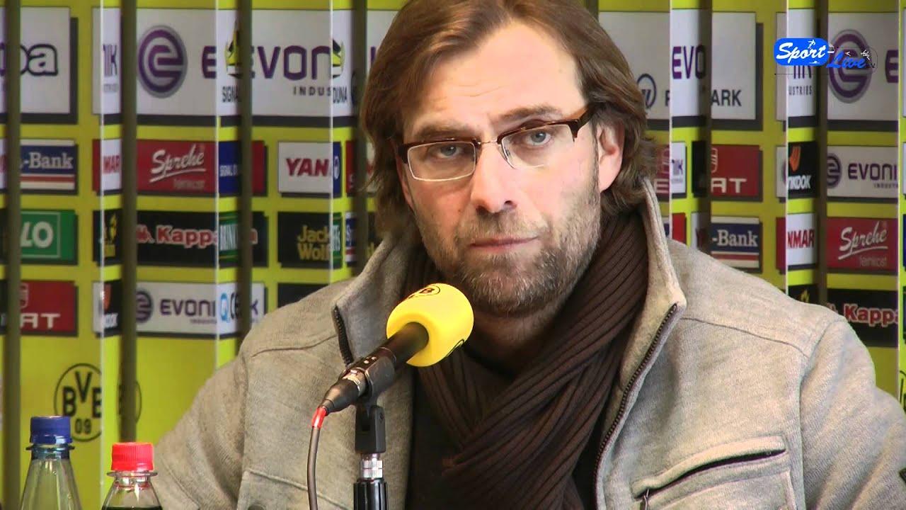 Borussia Dortmund - Holstein Kiel DfB-Pokal Pressekonferenz 06.02.2012 Teil 2
