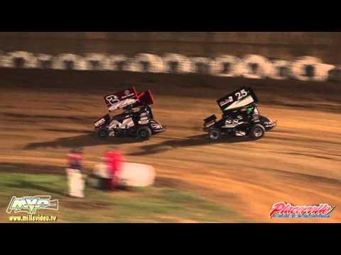 April 23, 2016 - BCRA Midget Lite Highlights - Placerville Speedway