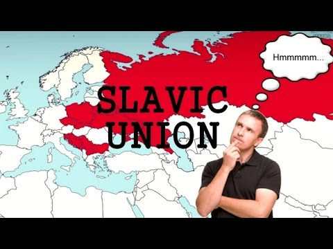 What if Slavic Union would be established?