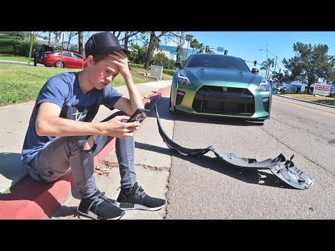 Thumbnail: Crashed My GTR...